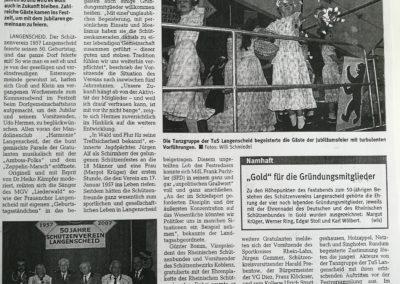 50 Jahre Schützenverein