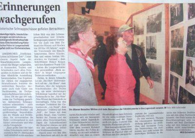 2009_11 Artkel Bilderausstellung