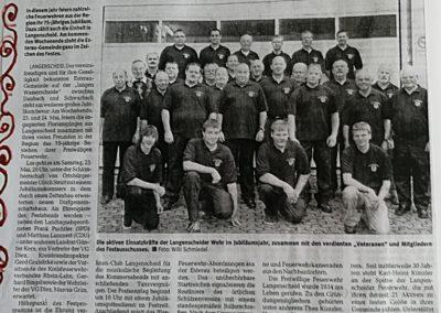 2009 Artikel 75 Jahre Feuerwehr I