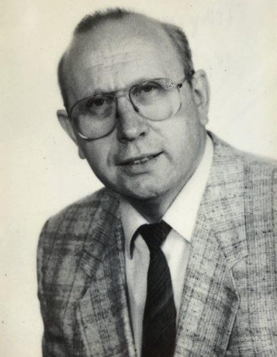 Wilhelm TRAPP - Bürgermeister 1984 - 1994