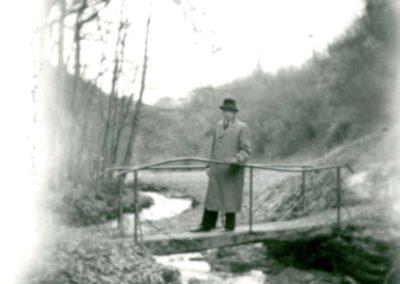Kleine Brücke über den Daubach an der Gülle-Mühle