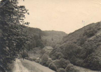 Weg zur Gülle-Mühle