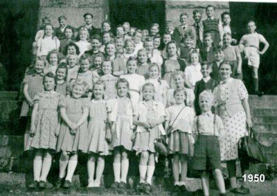 Schulausflug Deutsches Eck 1950